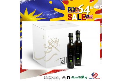 Al Ard Palestine Premium Organic Extra Virgin Olive Oil 250ml 1 Box (12 bottles)
