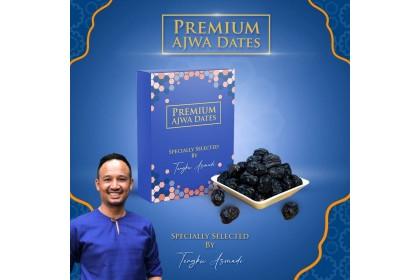 Kurma Ajwa Premium Gred Jumbo AAA by Tengku Asmadi 500G