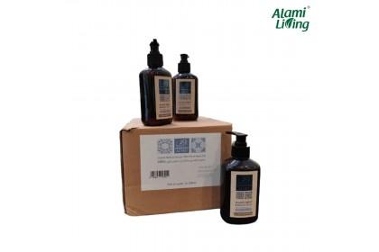 PALESTINIAN OLIVE OIL NABULSI LIQUID SOAP 250ML x 12 BOTTLES